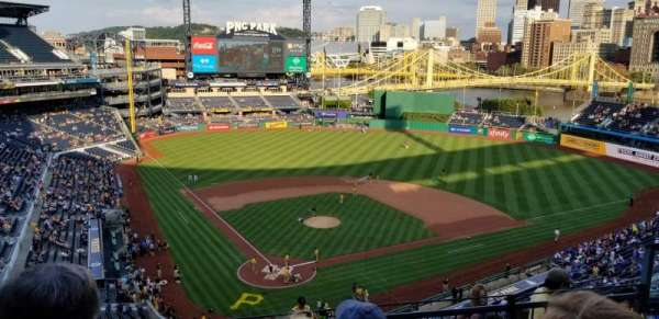 PNC PARK, section: 314, row: G, seat: 9