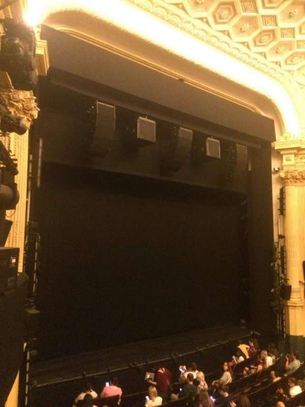 Hudson Theatre, section: Dress Circle, row: A, seat: 15