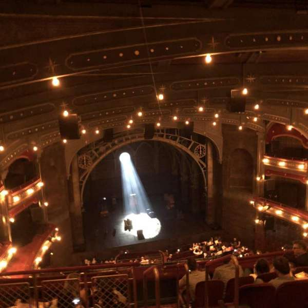 Lyric Theatre, section: Balcony L, row: F, seat: 3