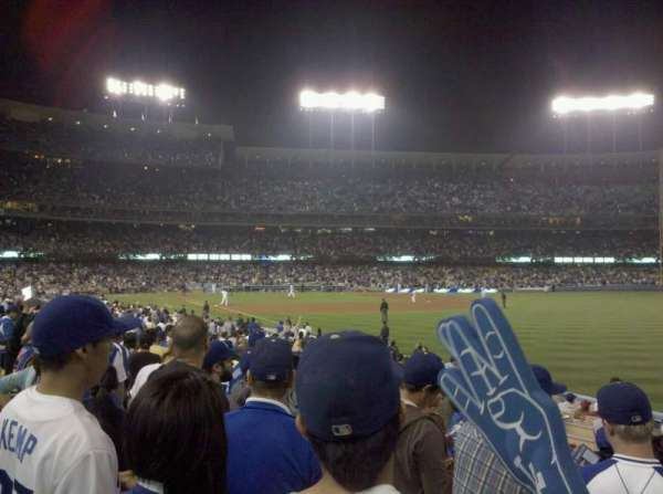 Dodger Stadium, section: 44FD, row: F, seat: 6