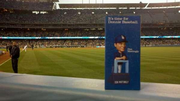 Dodger Stadium, section: 50FD, row: AA, seat: 2