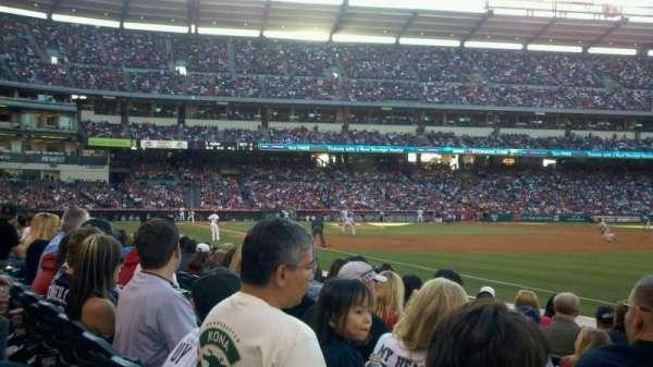Angel Stadium, section: F129, row: G, seat: 14