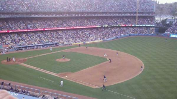 Dodger Stadium, section: 32RS, row: A, seat: 6