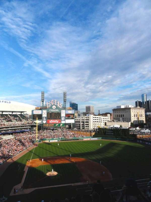 Comerica Park, section: 323, row: 11, seat: 9