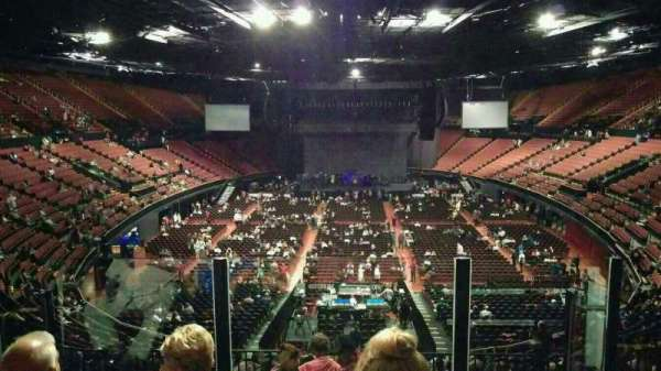 The Forum, section: 236, row: 5, seat: 9