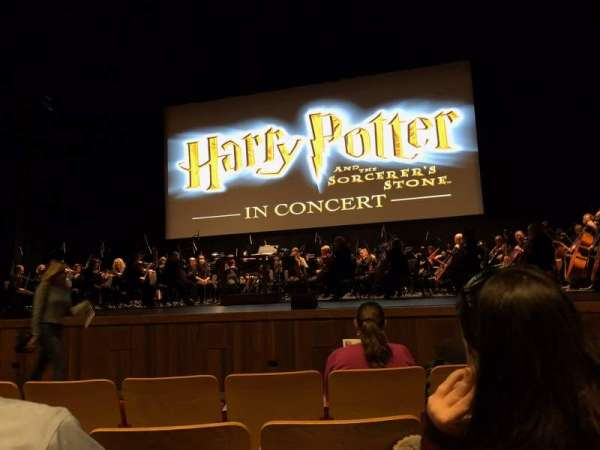 Velma V. Morrison Center for the Performing Arts, section: FLR1, row: C, seat: 12