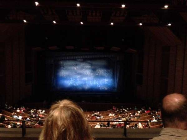 Velma V. Morrison Center for the Performing Arts, section: LWR-MZ, row: B, seat: 26