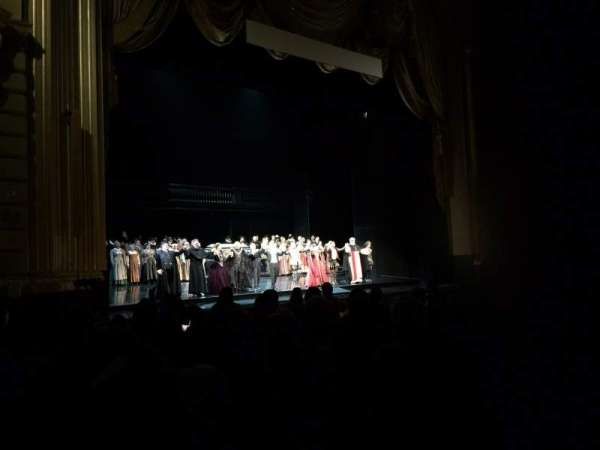 War Memorial Opera House, section: Orchestra, row: K, seat: 13