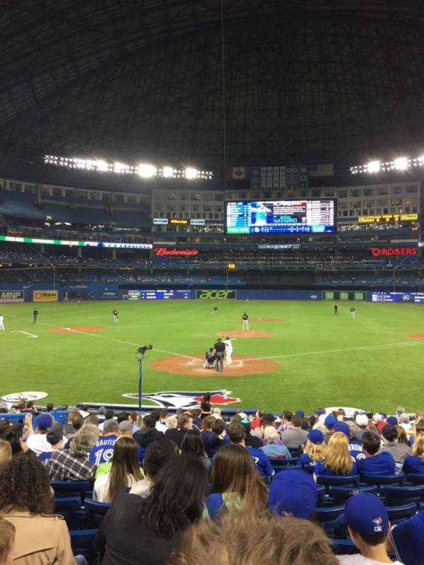 Rogers Centre, section: 121R, row: 20, seat: 8