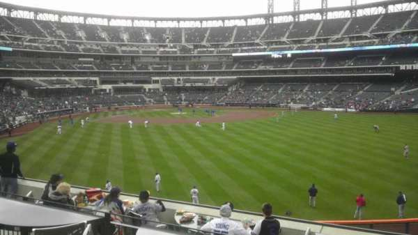 Citi Field, section: Shea Bridge