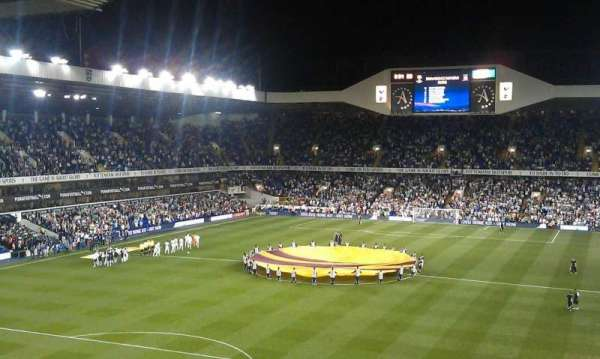 White Hart Lane, section: 40, row: 10, seat: 65