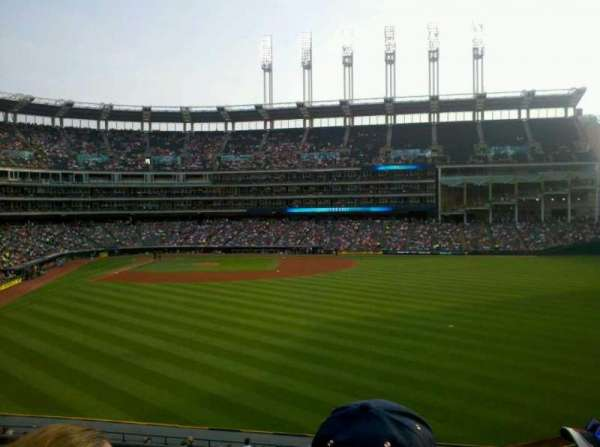 Progressive Field, section: 307, row: C, seat: 19