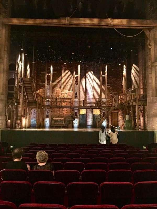 CIBC Theatre, section: Orchestra C, row: P, seat: 106