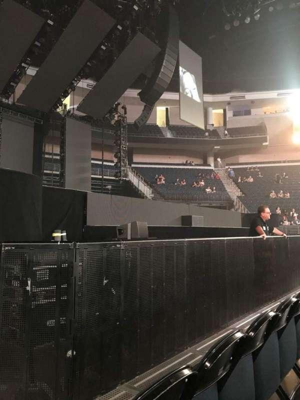 Infinite Energy Arena, section: Floor 5, row: B, seat: 10