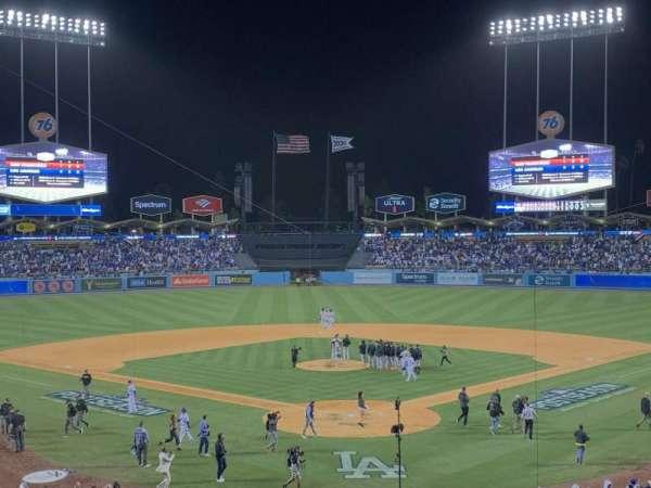 Dodger Stadium, section: 101, row: 4, seat: 2