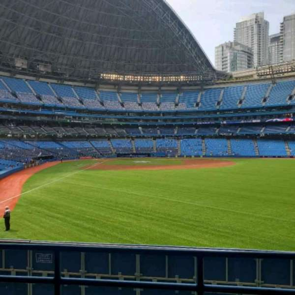 Rogers Centre, section: 107L, row: 3, seat: 103