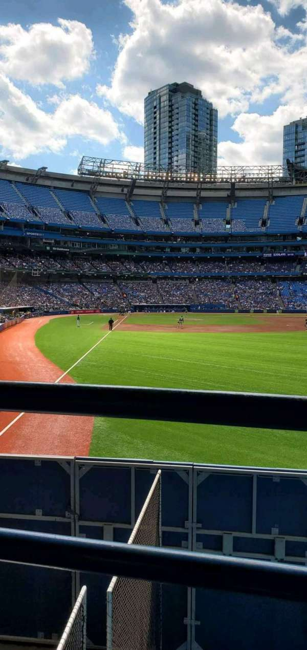 Rogers Centre, section: 108R, row: 1, seat: 2
