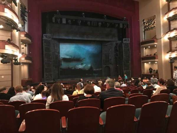 Ziff Ballet Opera House at the Arsht Center, section: Orchestra Left, row: V, seat: 11