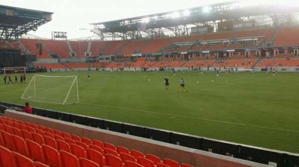 BBVA Stadium, section: 123, row: g, seat: 1