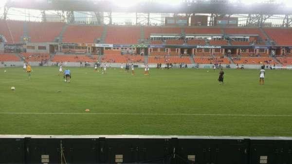 BBVA Compass Stadium, section: 128, row: c, seat: 1