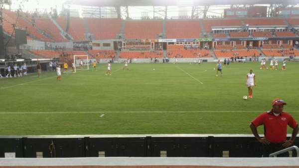 BBVA Compass Stadium, section: 129, row: d, seat: 4