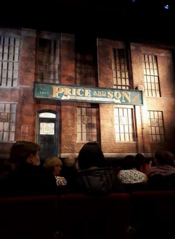 Adelphi Theatre, section: Stalls, row: F, seat: 24
