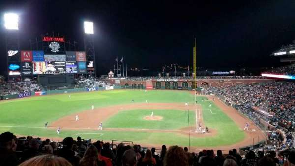 AT&T Park, section: 220, row: l, seat: 8