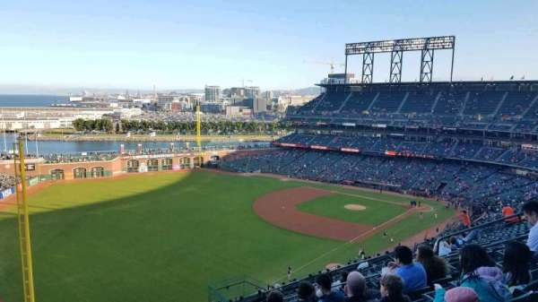 Oracle Park, section: VR332, row: 12, seat: 12