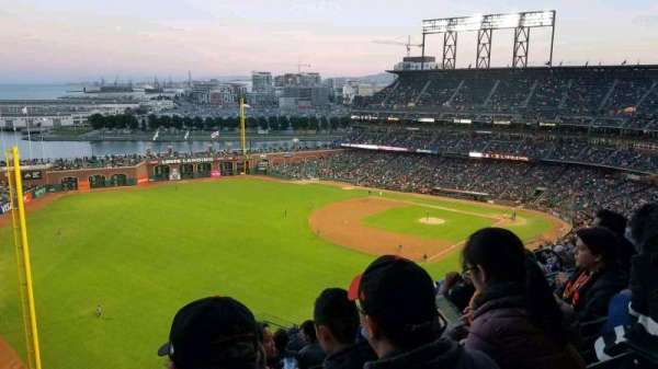Oracle Park, section: VR332, row: 13, seat: 11