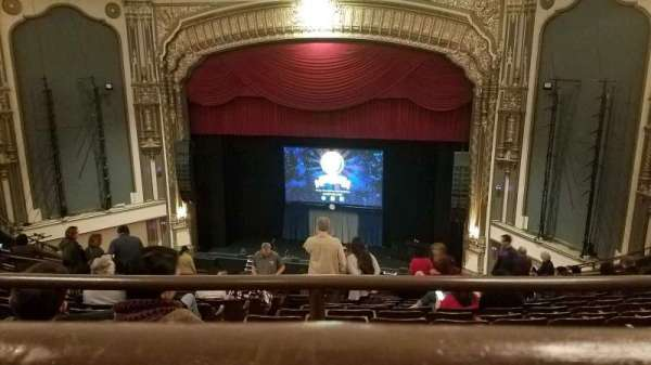 Golden Gate Theatre, section: Balcony RC, row: A, seat: 124