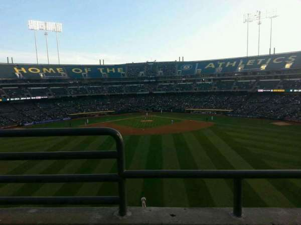 Oakland Coliseum, section: 241, row: 2, seat: 16