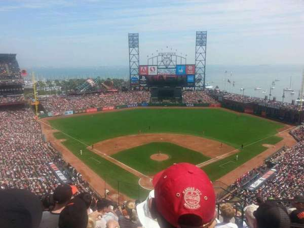 Oracle Park, section: VR315, row: 9, seat: 3
