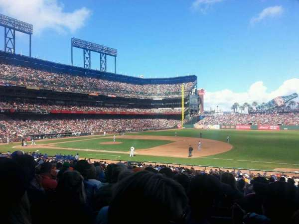 AT&T Park, section: 105, row: 30, seat: 9