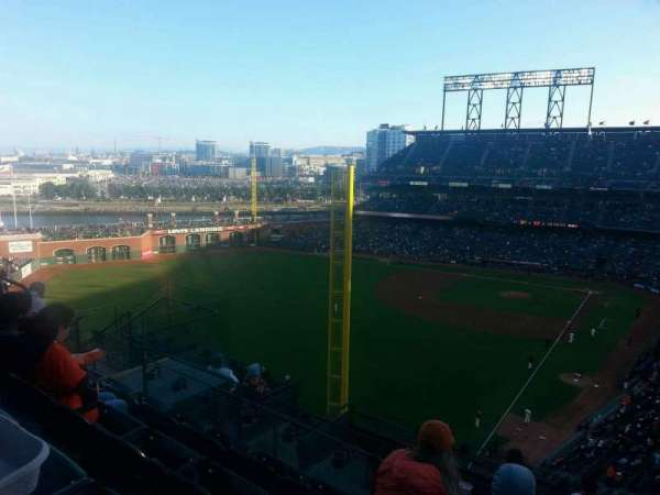 AT&T Park, section: 335, row: 4, seat: 11