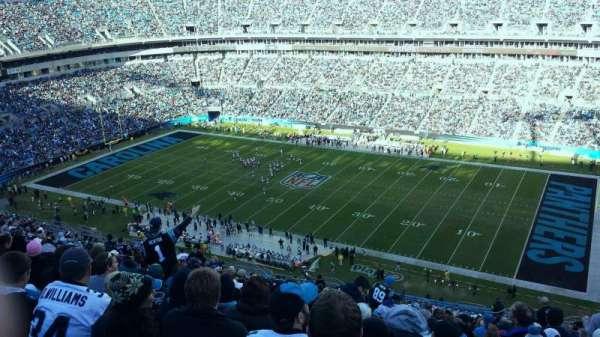 Bank of America Stadium, section: 538, row: 12, seat: 2