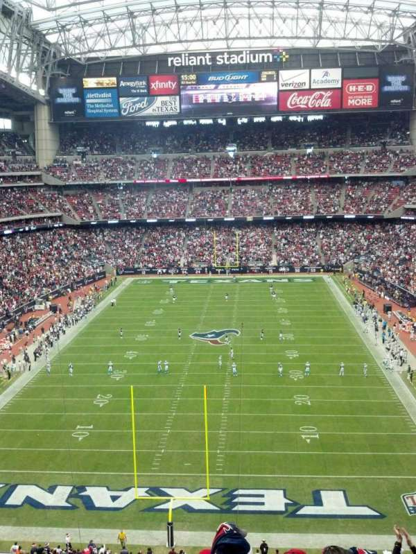 NRG Stadium, section: 546, seat: 23 and 24
