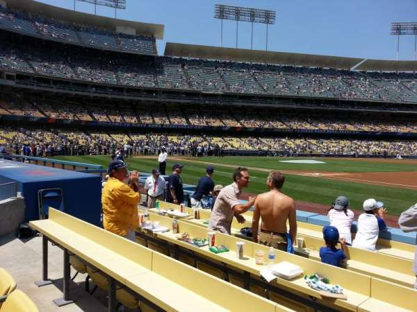 Dodger Stadium, section: 26BL, row: 4, seat: 6
