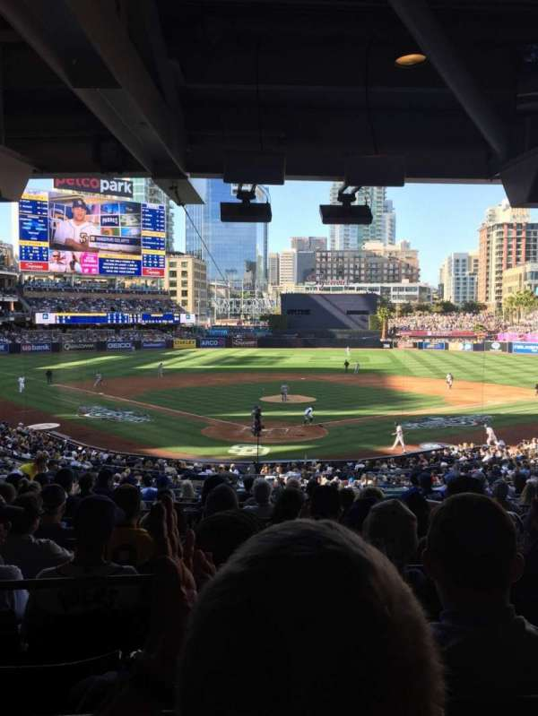 PETCO Park, section: G, row: 16, seat: 10