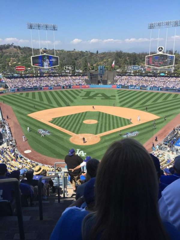 Dodger Stadium, section: 2, row: J, seat: 1