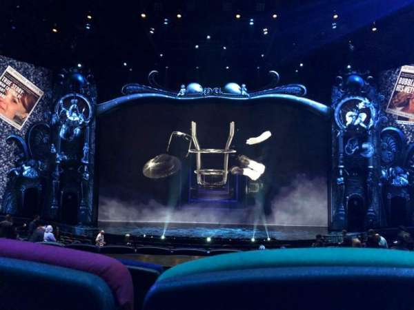 Michael Jackson One Theatre, section: 203, row: CC, seat: 9