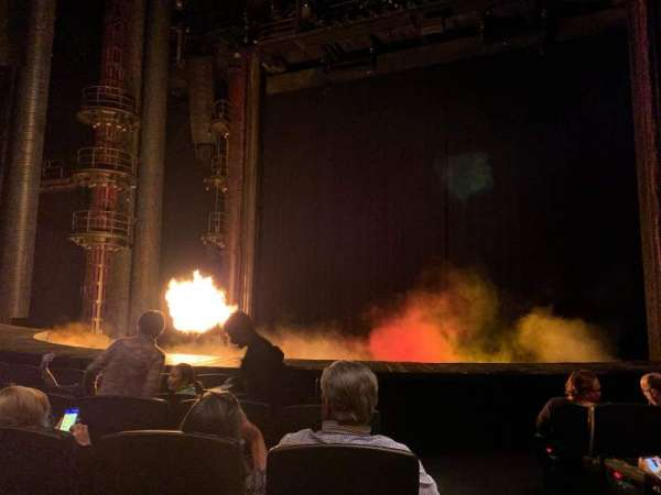 KÀ Theatre - MGM Grand, section: 103, row: F, seat: 22