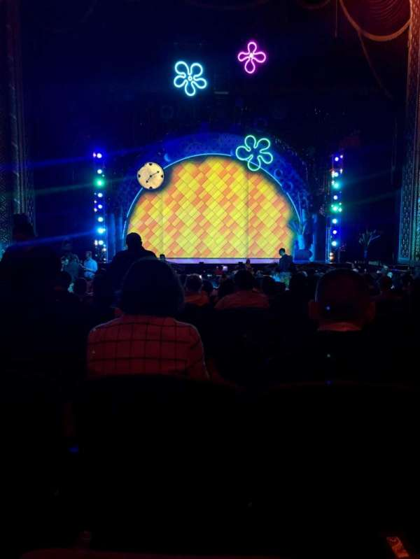 Wang Theatre, section: ORCH C, row: R, seat: 104