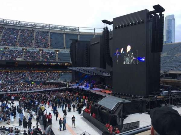 Soldier Field, section: 206, row: 2, seat: 1
