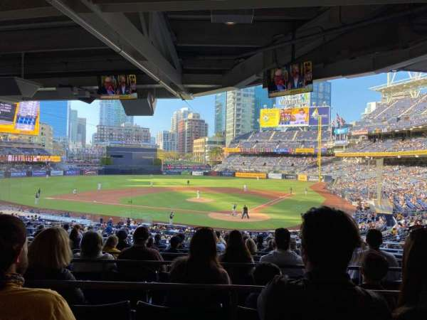 PETCO Park, section: PCD, row: 15, seat: 10