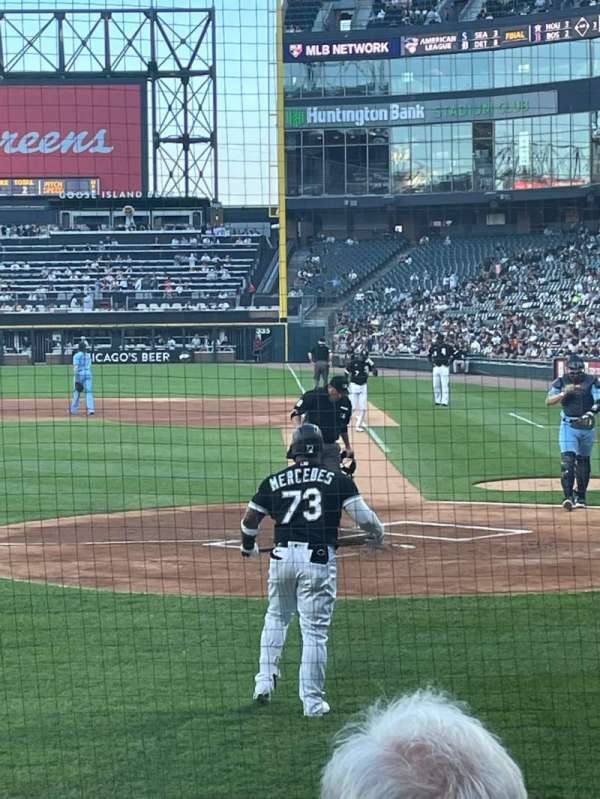 Guaranteed Rate Field, section: 137, row: 7, seat: 1
