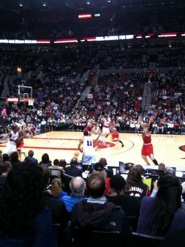 Moda Center, section: 102