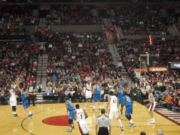 Moda Center, section: 122, row: J, seat: 14