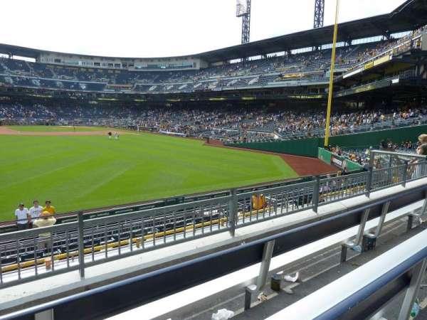 PNC Park, section: 237, row: C, seat: 19