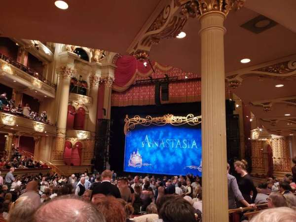 Academy of music , section: parquet circle D, row: W, seat: 14