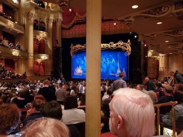 Academy of music , section: parquet circle D, row: W, seat: 16